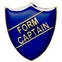 ShieldBadge Form Captain Blue</br>SB016B
